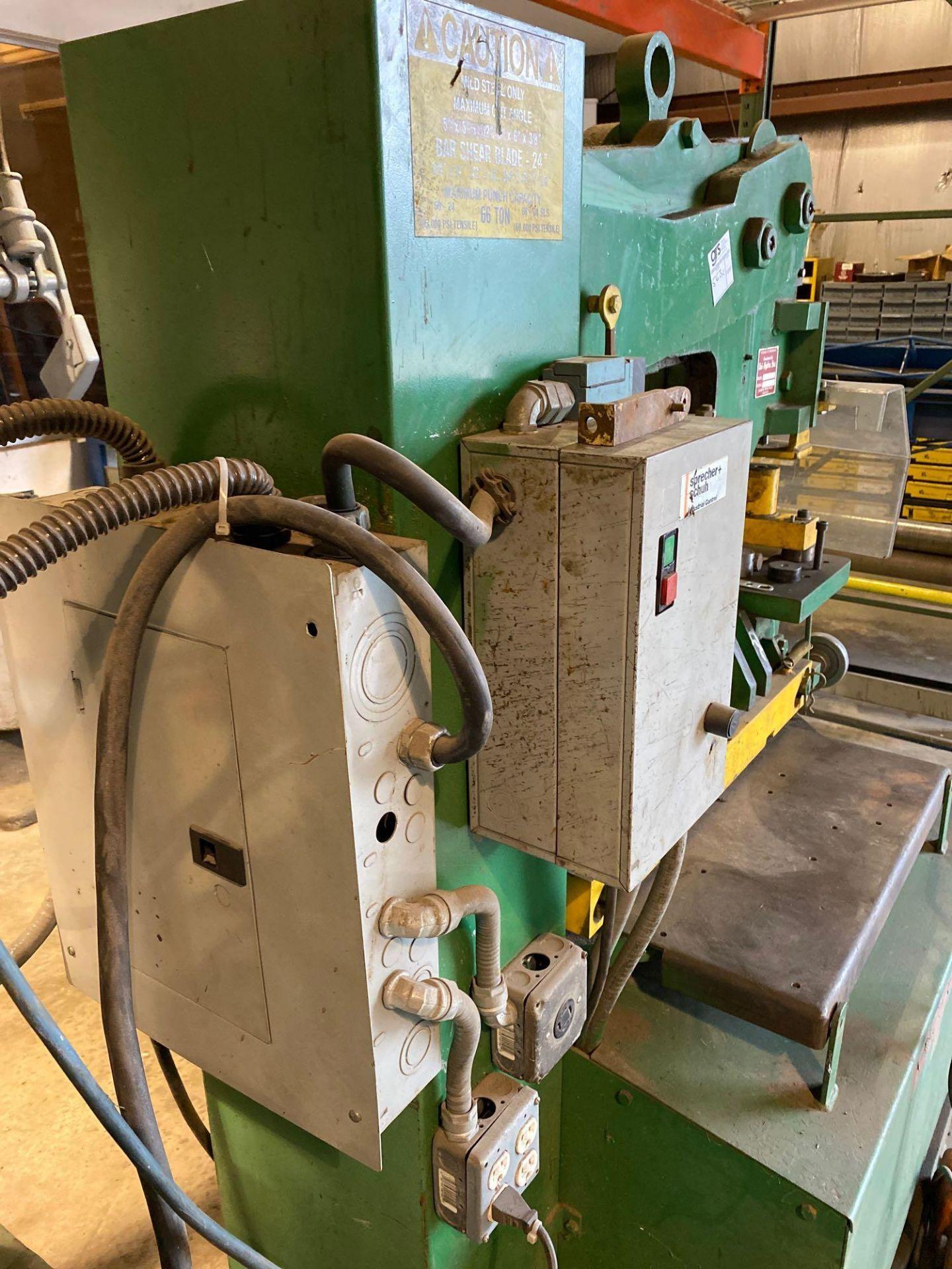 Uni-Hydro Iron Worker 66 Ton - Image 5 of 15
