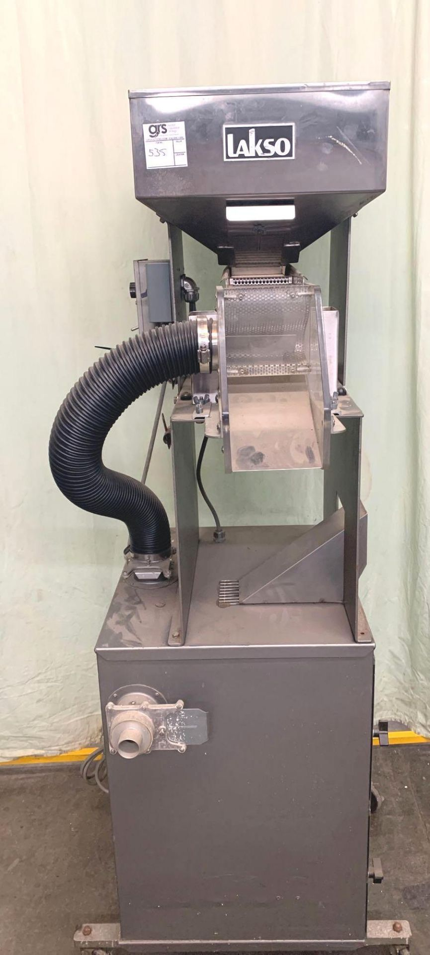 Lakso Vibratory Tablet Feeder w/ Donaldson Dust Collector