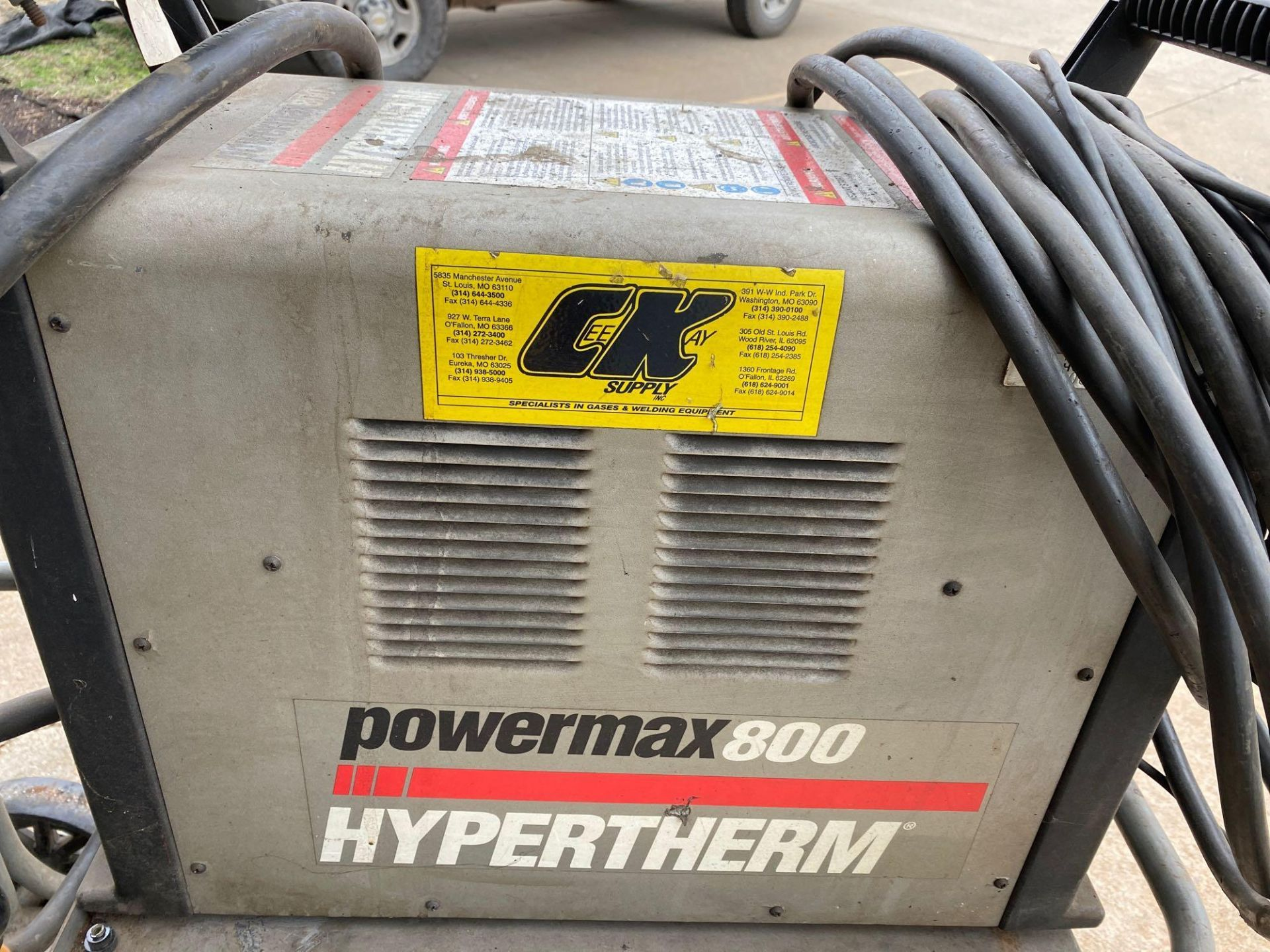 Power Max 800 Hypertherm Plasma Cutter - Image 8 of 8