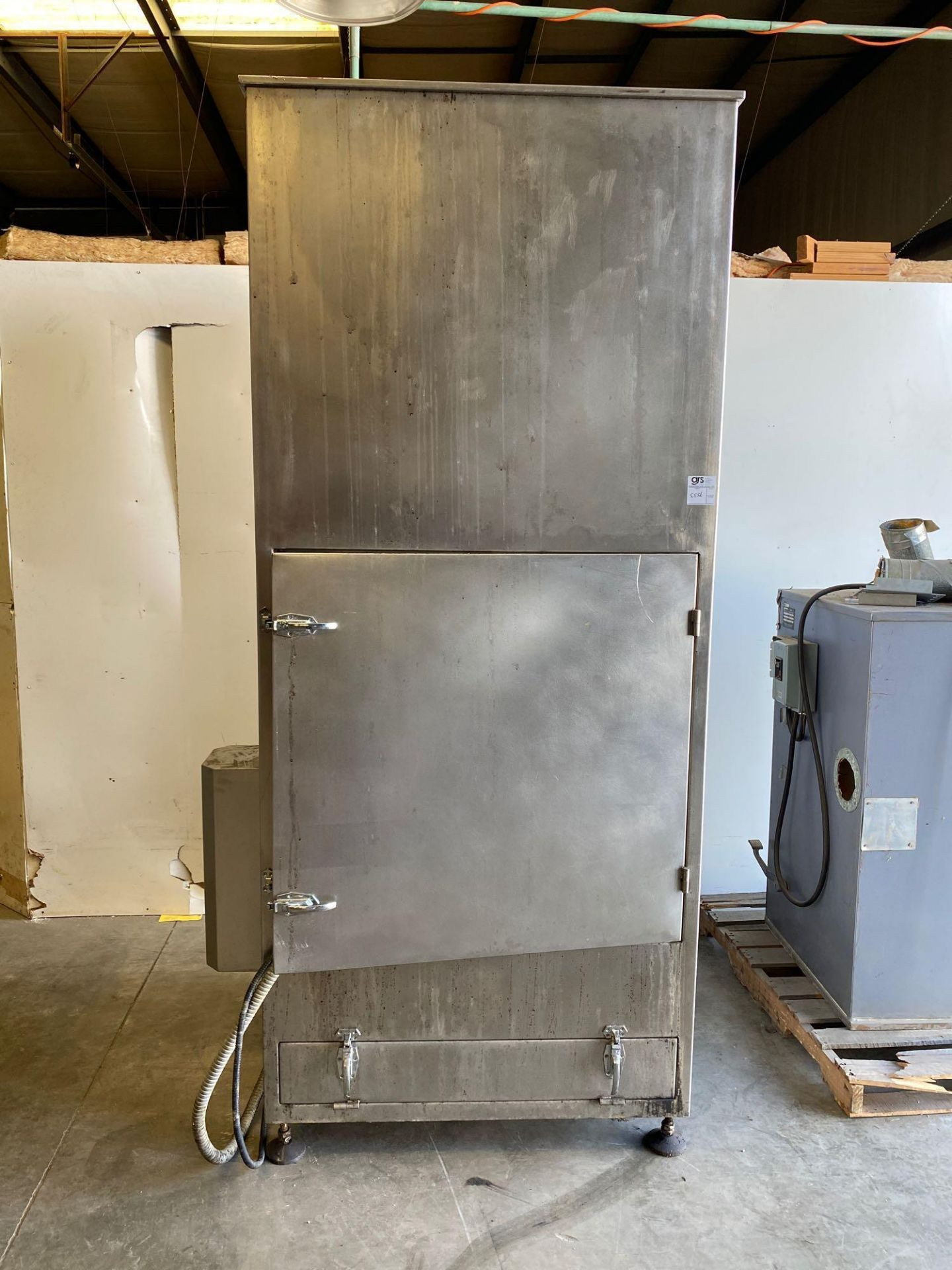 Air Exhaust Dust Collection Cabinet - Goes with 555C