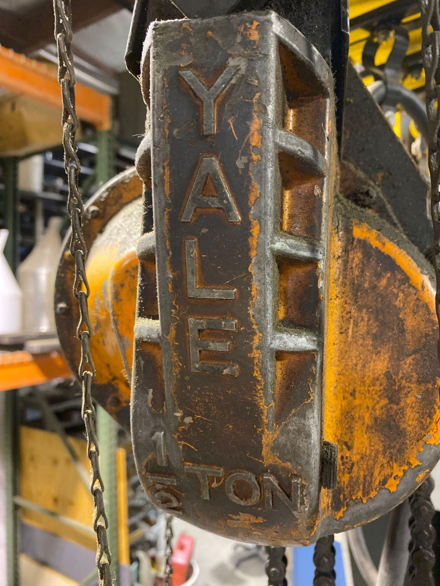 Over Head Jib Crane with Shannon Hoist and Yale Pulley System - Image 13 of 13