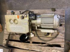 Busch Displacement Vacuum Motor