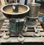 (1) Sweco Vibro-Energy Separator w/ Stream Cool Baldor Motor (1) William Boul Limited Stoke-On-Trent