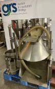 (2) Stainless Steel Powder Hopper Dumper