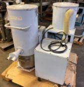 (2) Vacuum Dust Collectors