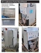 Labconco Chemical Fume Hood Stand