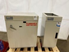Labconco Solvent Storage Cabinet and Base Cabinet