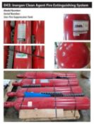 Ansul Inergen Clean Agent Fire Extinguishing System Fire Suppression Tanks
