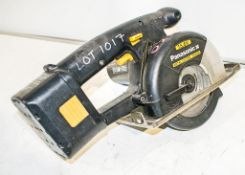 Panasonic 15.6v metal cutter c/w battery ** No charger or carry case **