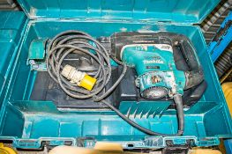 Makita 110v SDS rotary hammer drill c/w carry case ** Parts missing **