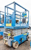 Genie GS1932 battery electric scissor lift access platform Year: 2008 S/N:  Recorded Hours: 254
