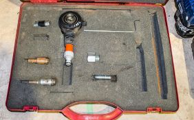 Core drill water adapter kit c/w carry case