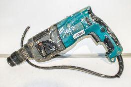 Makita 110v SDS rotary hammer drill ** Plug cut off **