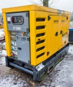 SDMO R66 60 kva static diesel driven generator Year: 2015 S/N: 4160 Recorded Hours: 6706