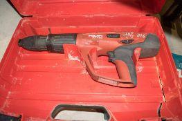 Hilti DX450 nail gun c/w carry case