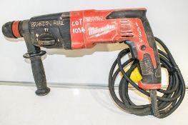 Milwaukee 110v SDS rotary hammer drill