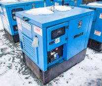 Genset MGMK 10000 10 kva static diesel driven generator Recorded Hours: 6175 MS5047