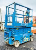 Genie GS1932 battery electric scissor lift access platform Year: 2008 S/N: 91671 Recorded Hours: 403