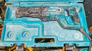 Makita 110v reciprocating saw c/w carry case