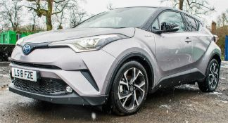 Toyota C-HR Dynamic HEV CVT hybrid electric 5 door hatchback Registration Number: LSI8 FZE Date of