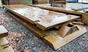 Man Hole box top and bottom Width: 5 metre Length: 1.5 metre c/w connectors