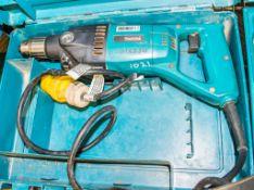 Makita 110v rotary hammer drill c/w carry case