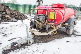 Trailer Engineering diesel driven fast tow pressure washer bowser 1403-0873