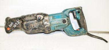 Makita 110v reciprocating saw ** Power cord cut off **