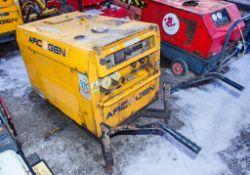 Arc Gen Weldmaker 200 SSD diesel driven welder generator ** No wheels **