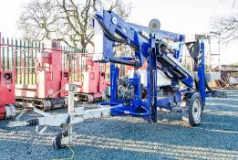Nifty 120TE battery electric fast tow boom lift access platform Year: 2015 S/N: 0433033 08BB0011