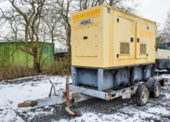 Olympian Caterpillar XQE80 80 kva fast tow diesel driven generator Year: 2006 S/N: 00147 Recorded