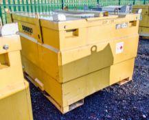 Western 3000 litre bunded static fuel bowser c/w generator feeds 8181