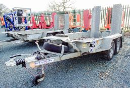 Ifor Williams 8ft x 4ft tandem axle plant trailer 22130250