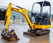 JCB 8014 CTS 1.5 tonne rubber tracked excavator Year: 2014 S/N: 2070513 Recorded Hours: 2055 Piped,