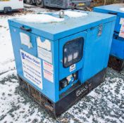 Genset MGMK 10000 10 kva static diesel driven generator Recorded Hours: 10170 MS2637