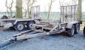 Indespension 8ft x 4ft tandem axle plant trailer A629258