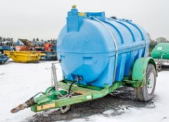 Trailer Engineering 500 gallon fast tow water bowser S/N: 20108 AP