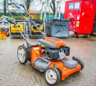 Husqvarna petrol driven lawnmower