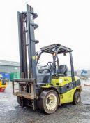 Clark C35 3.5 tonne diesel driven fork lift truck Year: 2014 S/N: 2518-9843 Recorded Hours: 4744 AP