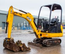 JCB 8014 CTS 1.5 tonne rubber tracked excavator Year: 2014 S/N: 2070436 Recorded Hours: 1467 Piped,