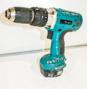 Makita 14.4v rotary drill c/w battery ** No charger or carry case **