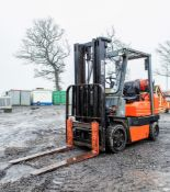 Toyota SFGC25 2.5 tonne gas powered fork lift truck Year: 1995 S/N: 83483 Recorded Hours: 13302 333