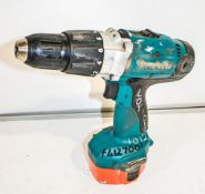 Makita MXT 14.4v rotary hammer drill c/w battery ** No charger or carry case **