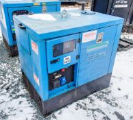 Genset MGMK 10000 10 kva static diesel driven generator Recorded Hours: 6728 MS2931