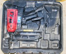 Montana nail gun c/w carry case ** No charger or battery **