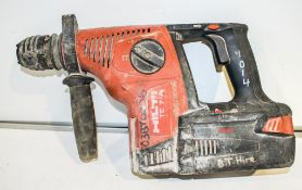 Hilti TE 7-A 36v SDS rotary hammer drill c/w battery ** No charger or carry case **