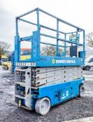 Genie GS2632 battery electric scissor lift access platform Year: 2008 S/N: 91671 Recorded Hours: 415