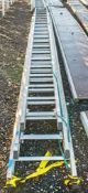 3 stage aluminium ladder
