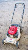 Honda petrol driven mower