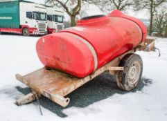 Western 250 gallon fast tow water bowser VPD ** Tow hitch missing **